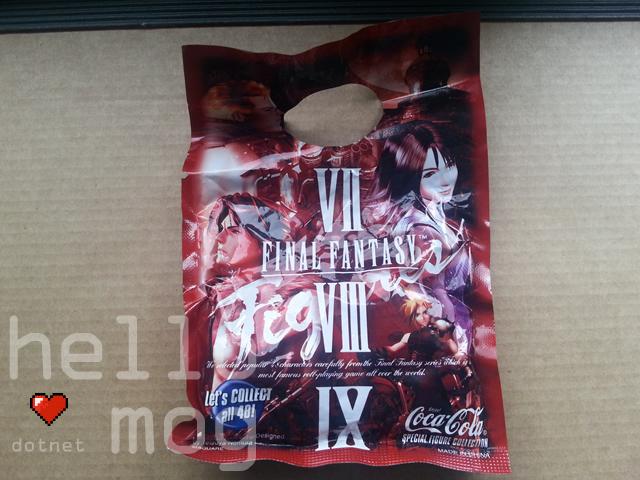 Final Fantasy Coca Cola Sealed Figure