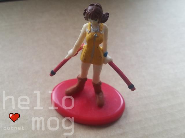 Final Fantasy VIII Selphie Tilmitt 15 Coca Cola Figure
