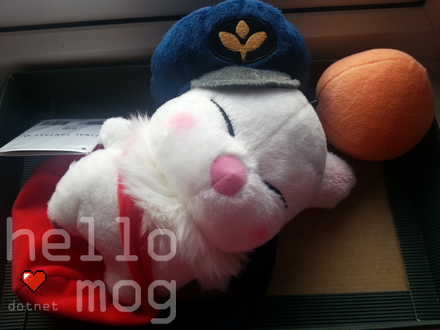 Final Fantasy XIV: A Realm Reborn Delivery Moogle Plush