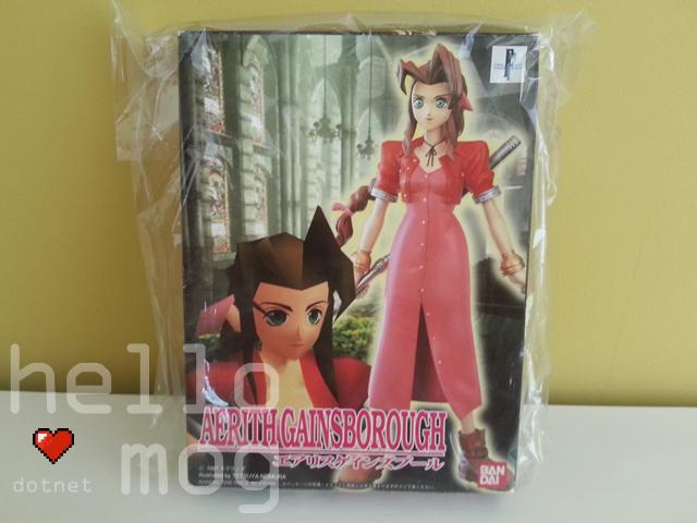 Final Fantasy VII Aerith Gainsborough Bandai Limited Model Kit