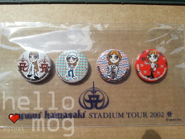 Ayumi Hamasaki Stadium Tour Ayupan Pins
