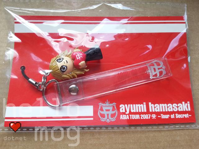 Ayumi Hamasaki Secret Ayupan #99 Phone Strap