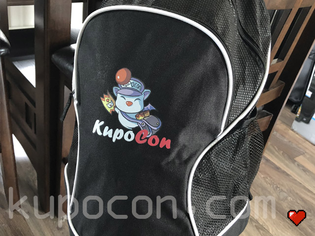 KupoCon Loot Black Backpack Generation 2