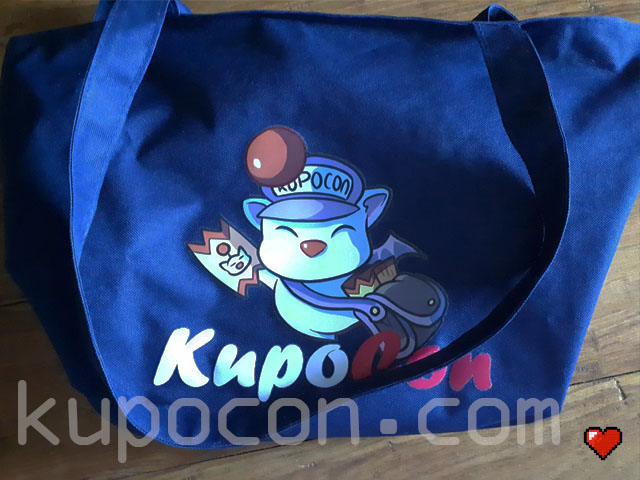 KupoCon Loot Blue Holdall Bag Generation 2