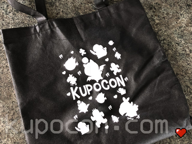 KupoCon Loot Tote Black Bag Generation 2