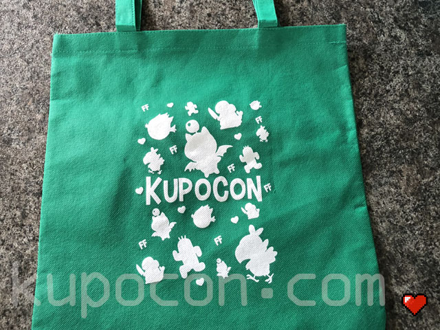 KupoCon Loot Tote Green Bag Generation 2
