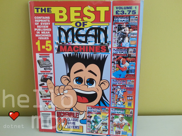 The Best of Mean Machines Magazine