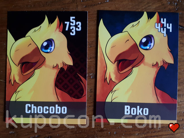 KupoCon TriPom Generation 1 & 2 Boko & Chocobo