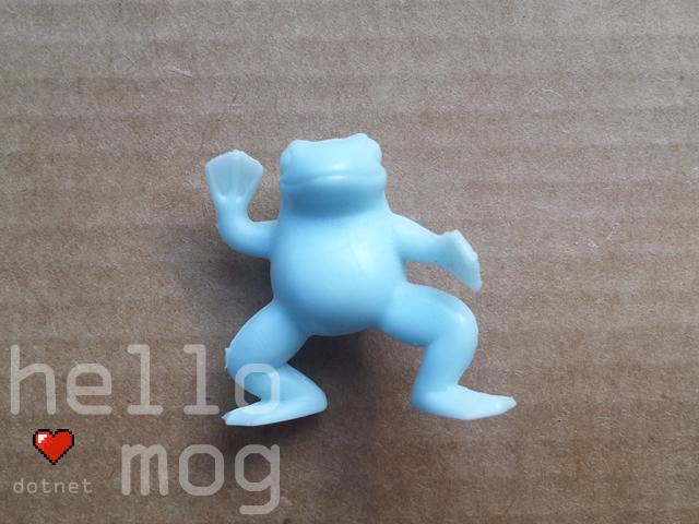 Final Fantasy VII Frog Blue Candy Figure