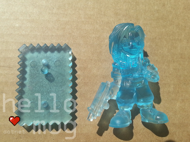 Final Fantasy VIII Laguna Blue Candy Figure