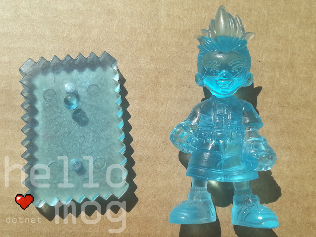 Final Fantasy VIII Zell Blue Candy Figure