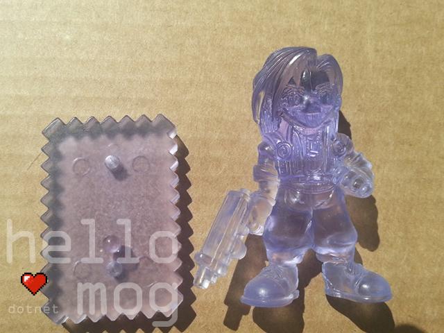 Final Fantasy VIII Laguna Purple Candy Figure