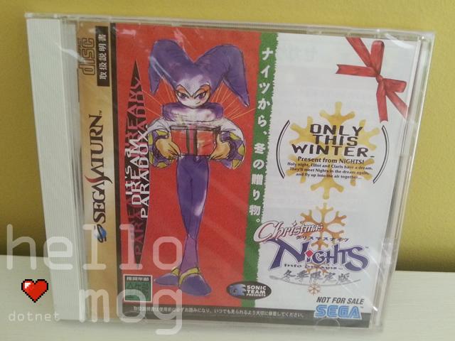 Sega Saturn Japanese Christmas NiGHTS into Dreams