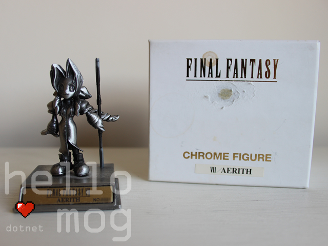 Final Fantasy VII Aerith Chrome Figure