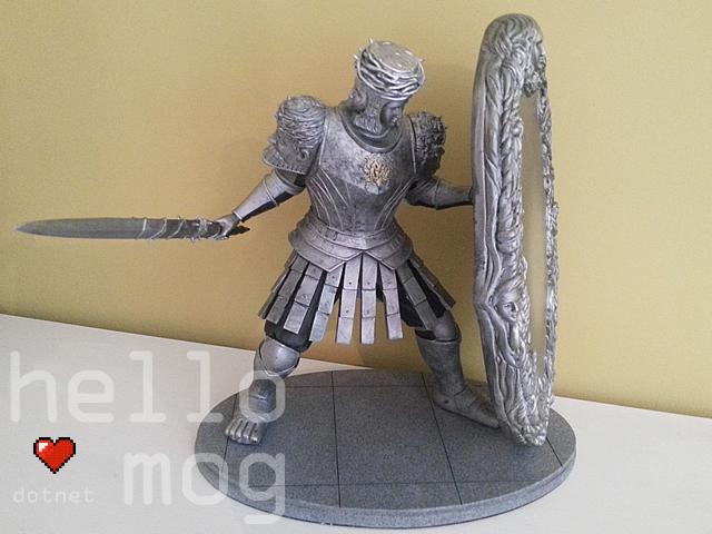 Dark Souls II Looking Glass Knight Statue