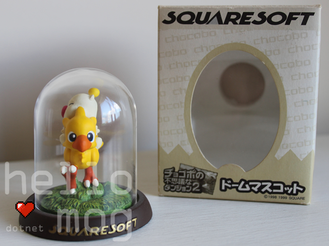 Chocobo Dome Mascot Moogle Riding a Chocobo