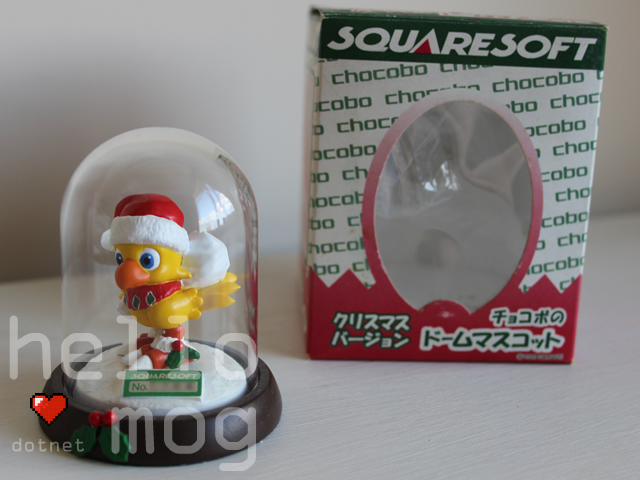 Chocobo Dome Mascot Christmas Santa Chocobo