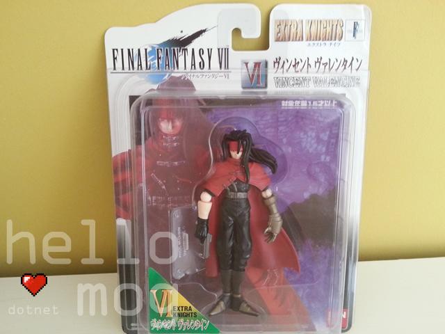Final Fantasy VII Japanese Vincent Valentine Extra Knights Figure