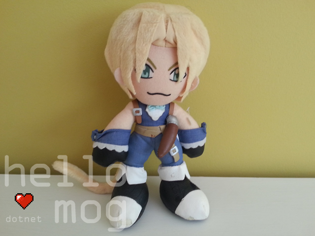 Final Fantasy IX Zidane UFO Plush