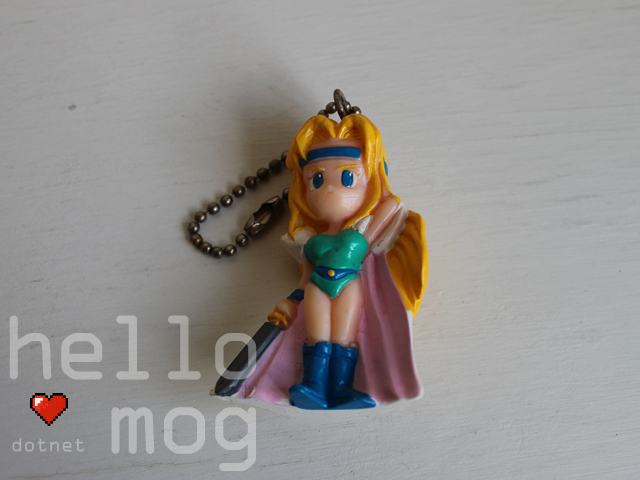 Final Fantasy VI Celes Vol. 2 Keychain