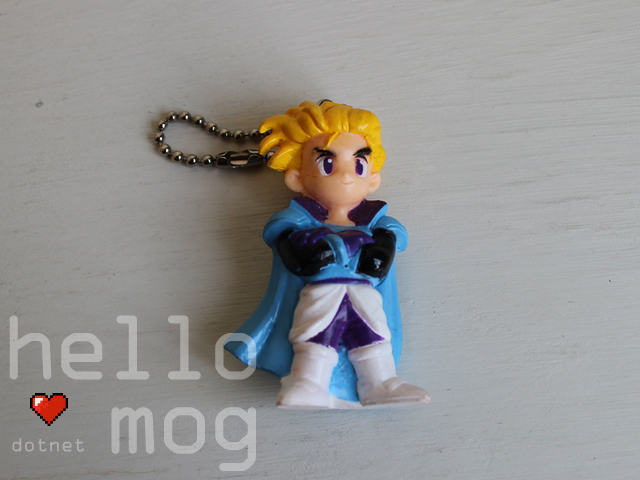 Final Fantasy VI Edgar Vol. 1 Keychain