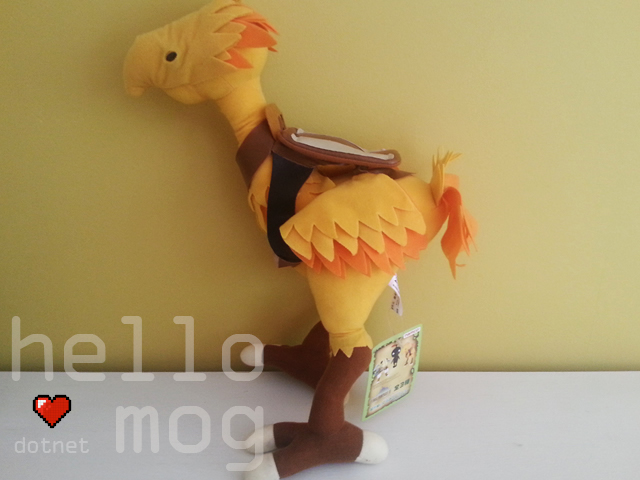 Final Fantasy XI Chocobo Plush