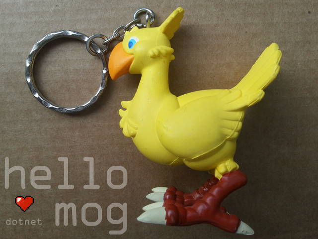 Final Fantasy VII Chocobo Keyholder