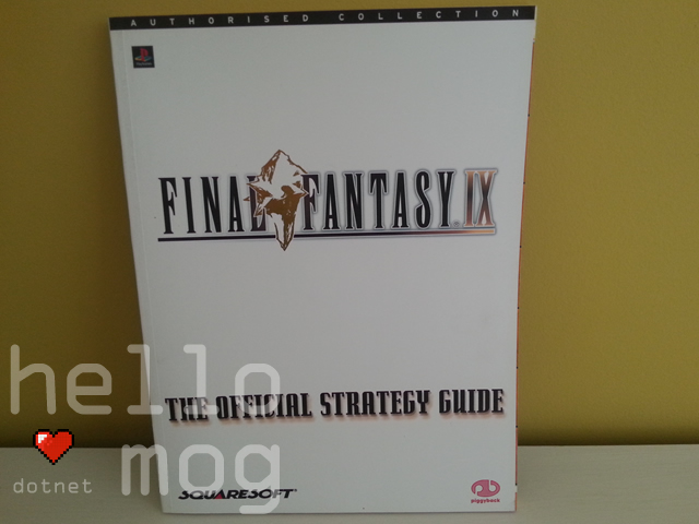 Final Fantasy IX The Official Strategy Guide Book