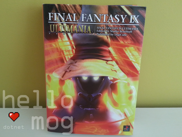 Final Fantasy IX Ultimania Book