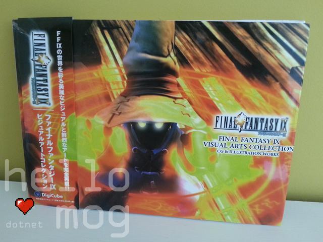 Final Fantasy IX Visual Arts Collection Book