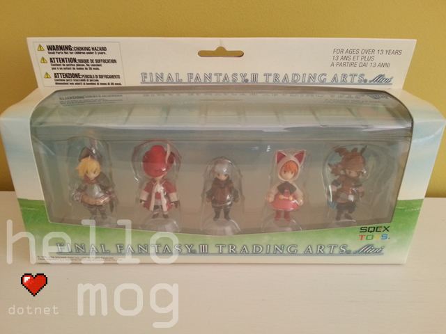 Final Fantasy III Trading Arts Mini Figures Box Set