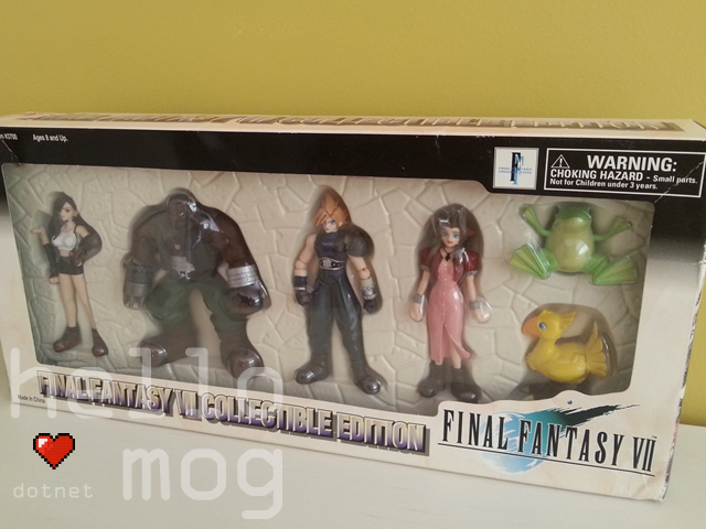 Final Fantasy VII Collectable Edition Bandai Figures