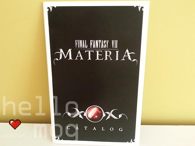 Final Fantasy VII Materia Catalog