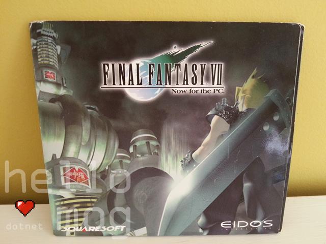 Final Fantasy VII PC Movie Non Interactive Demo