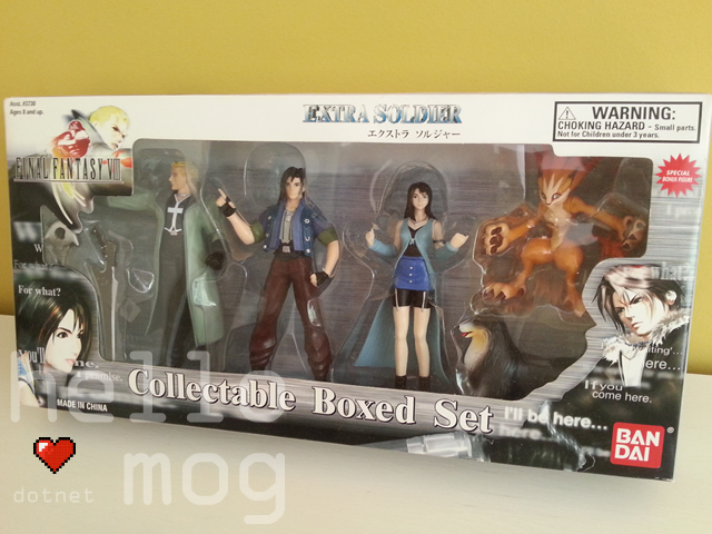 Final Fantasy VIII Bandai Collectable Boxed Set
