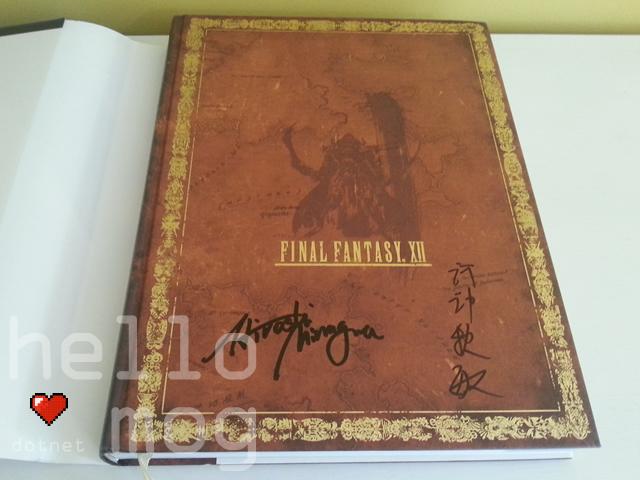 Final Fantasy XII The Complete Guide Limited Edition Signed Hiroshi Minagawa & Akitoshi Kawazu