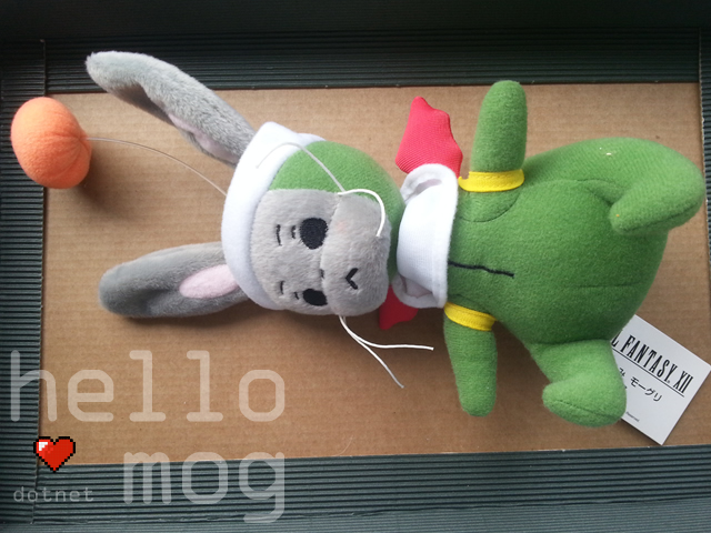 Final Fantasy XII Moogle Plush