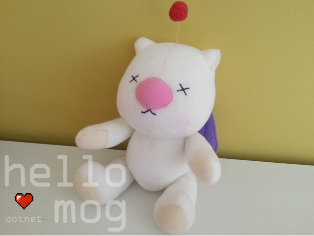 Final Fantasy X Moogle Plush
