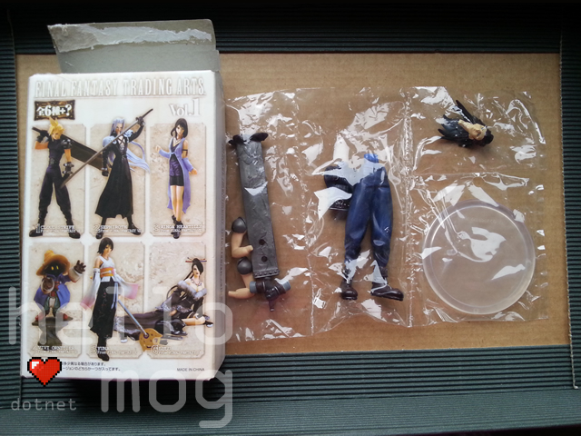 Final Fantasy Zack Fair Trading Arts Vol. 1 Figure