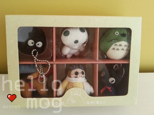 Studio Ghibli Character Keychain Ghibli Collection Various