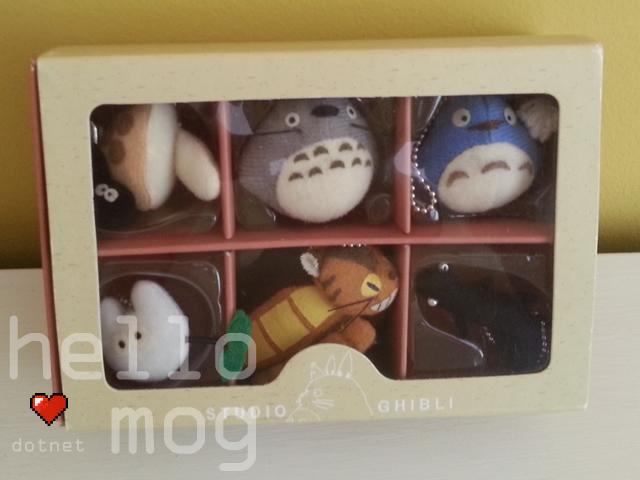 Studio Ghibli Character Keychain Ghibli Collection Totoro