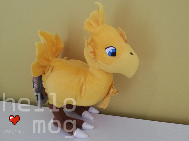 Final Fantasy VII Gold Chocobo Plush