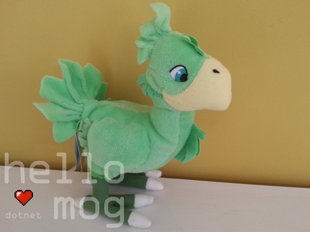 Final Fantasy VII Green Chocobo Plush