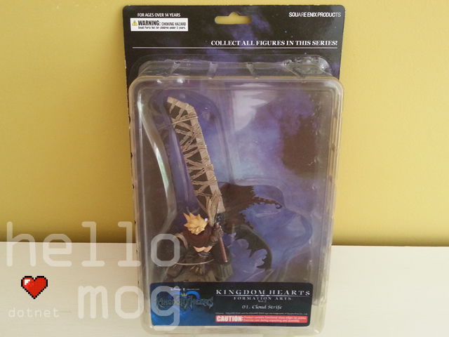 Kingdom Hearts Formation Arts Vol. 2 Cloud Strife Figure