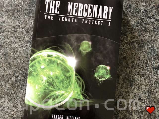 Xander Williams The Jenova Project I The Mercenary Novel