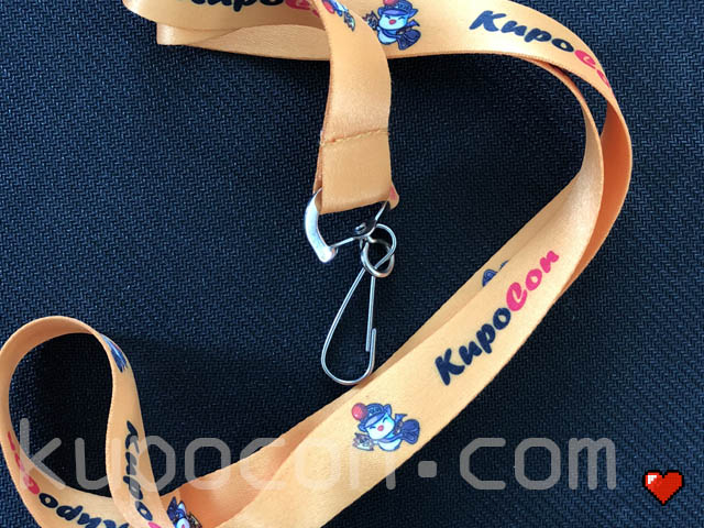 KupoCon Generation 2 Staff & Volunteer Lanyard