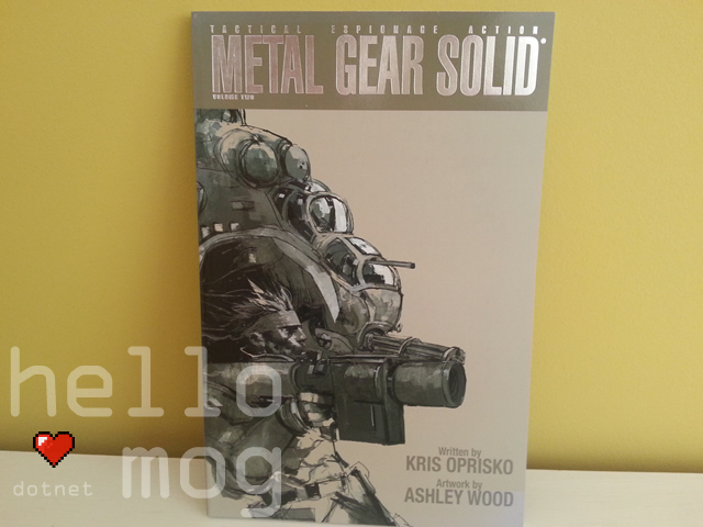 Metal Gear Solid Volume Two Graphic Novel Comic