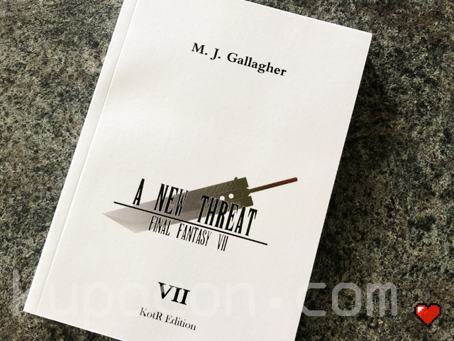 M. J. Gallagher Final Fantasy VII Novel A New Threat