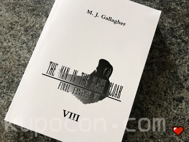 M. J. Gallagher Final Fantasy VII Novel The Man In The Black Cloak