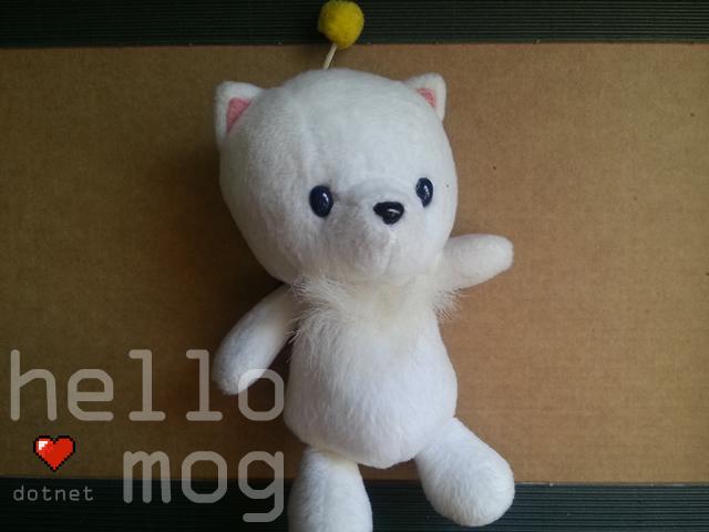 Final Fantasy X Moogle Mascot Plush